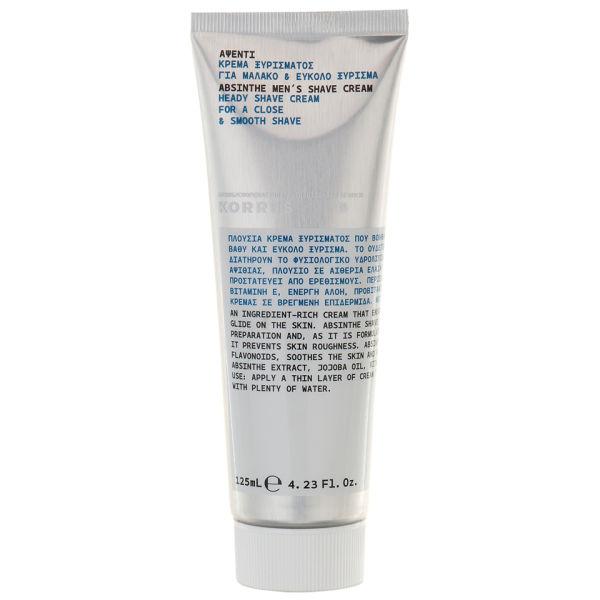 KORRES Absinthe Heady Shave Cream 125 ml