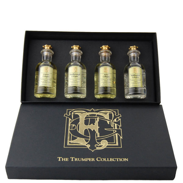 Trumpers Trumper Collection Coffret Cadeau 4 x 30ml (Astor Cologne, Curzon Cologne, Wellington Cologne, Marlborough Cologne)