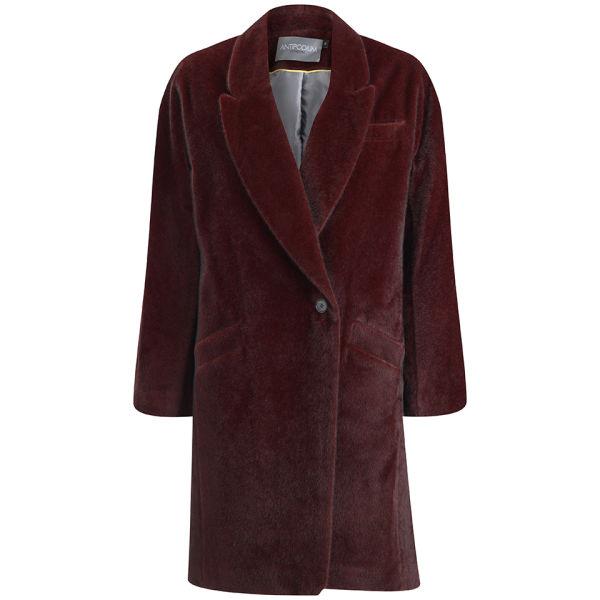 Antipodium Women's Facade Coat - Oxblood