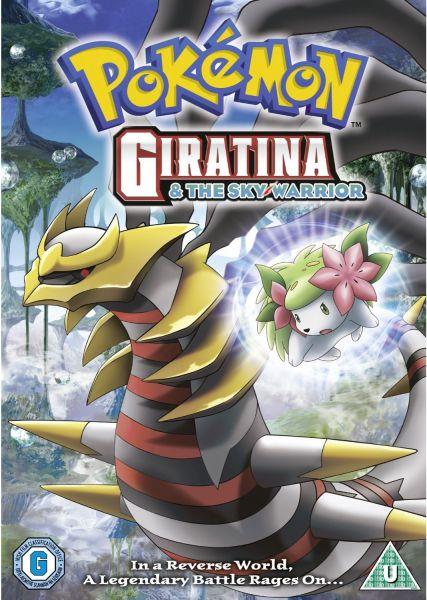 Pokemon Giratina And The Sky Warrior Dvd Zavvi