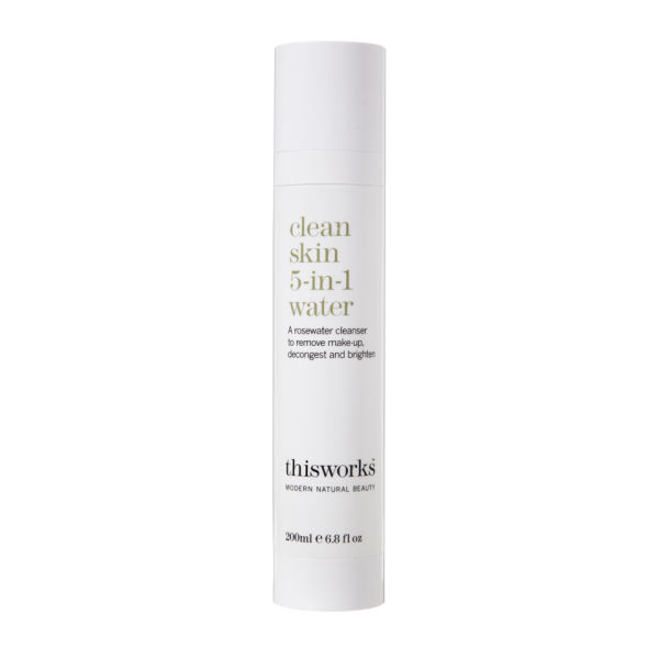this works Clean Skin 5-in-1 Water (200 ml)