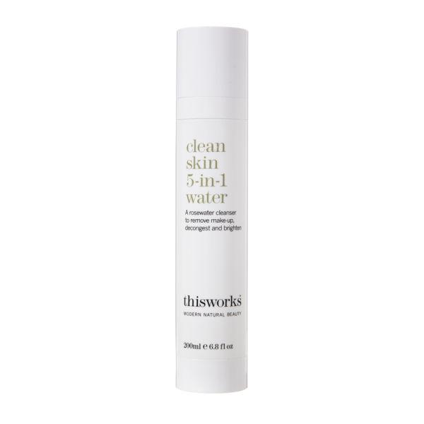 this works Clean Skin 5-in-1 Gesichtswasser (200 ml)