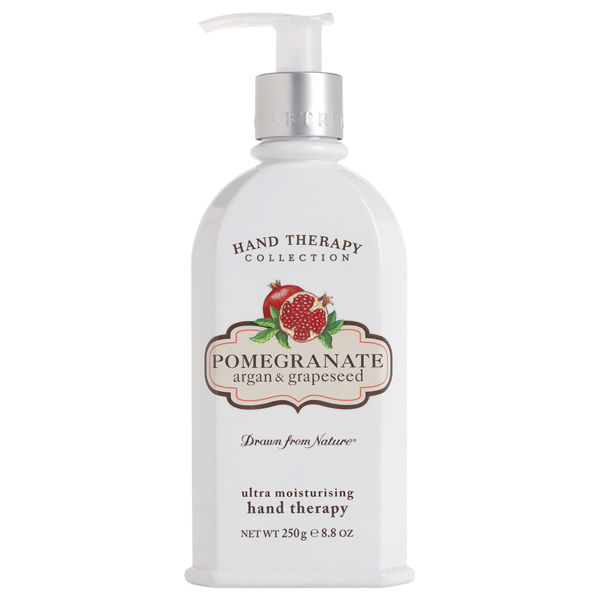 Crabtree & Evelyn Hand Therapy al melograno, argan e vinaccioli (250 g)