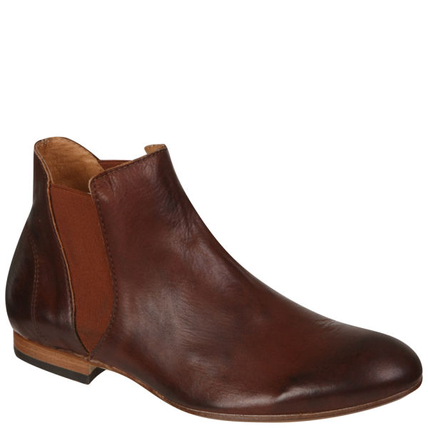 H Shoes by Hudson Women's Rudbeck Chelsea Ankle Boots - Chestnut