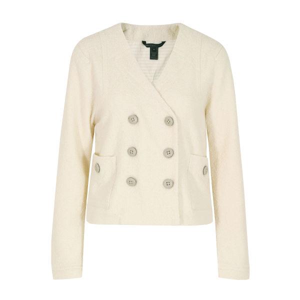Marc by Marc Jacobs Women's 604 Hawthorne Dusty Wool Jacket - White