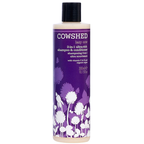 Cowshed Lazy Cow 2 en 1 Ultra Rich Shampoo et Conditioner