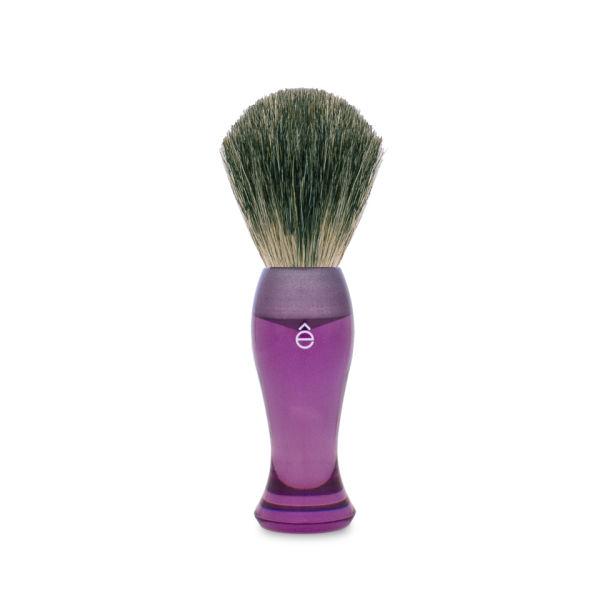 Blaireau eShave en Poils de Blaireau Manche Long -Violet