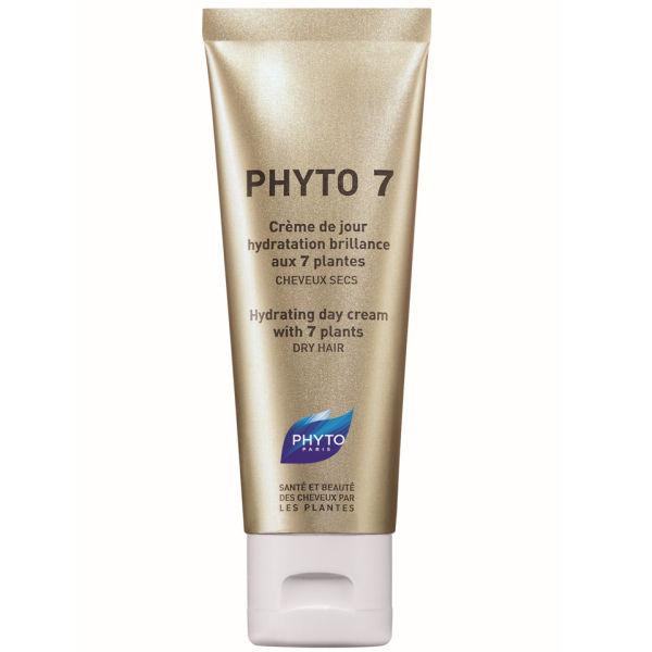 Crème de jour hydratation brillance aux 7 plantes Phyto Phyto7 50ml