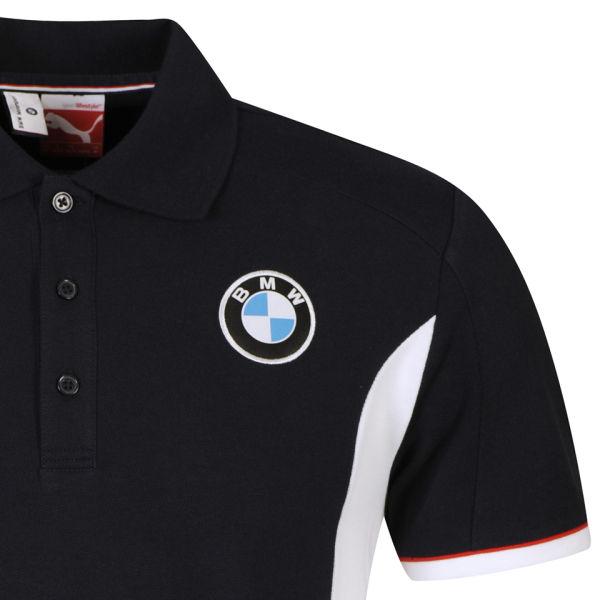 puma men 39 s bmw motorsport polo shirt blue sports. Black Bedroom Furniture Sets. Home Design Ideas