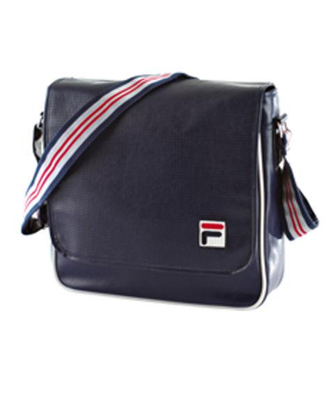 Fila Vintage Dj Shoulder Bag Peacoat Mens Accessories
