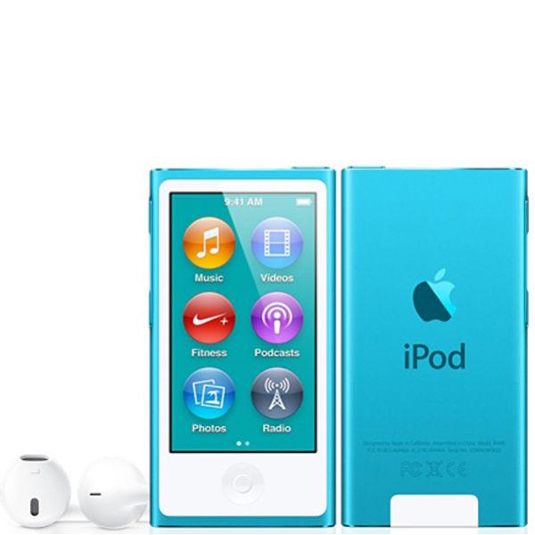 ipod nano 7th gen 16gb blue iwoot. Black Bedroom Furniture Sets. Home Design Ideas
