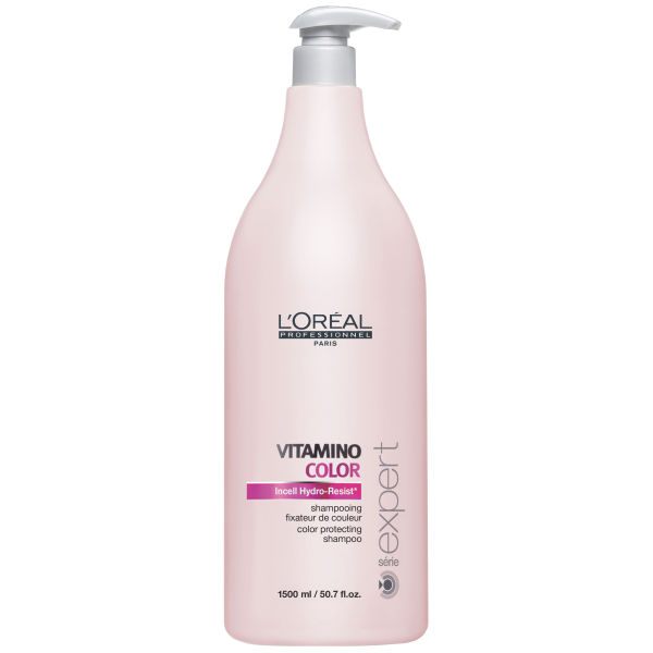 L'Oreal Professionnel Serie Expert Vitamino Color Shampoo (1500ml) and Pump