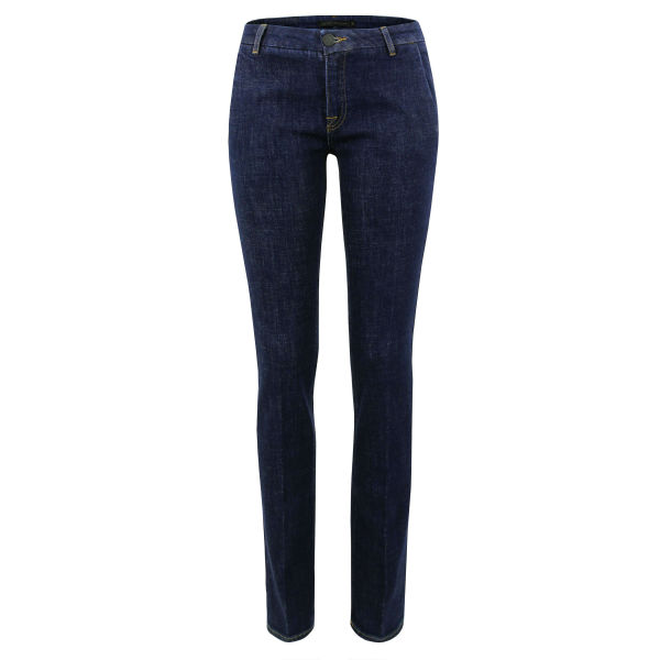 Victoria Beckham Women's VB100 Stovepipe Wax Jeans - Indigo