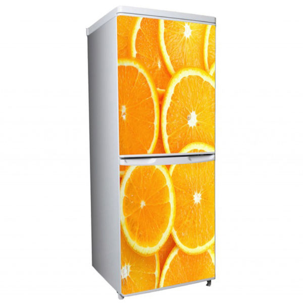 Oranges Two Door Fridge Or Freezer Vinyl Wrap Iwoot