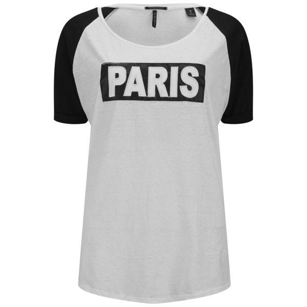 Maison Scotch Women's Paris T-Shirt - Black/White
