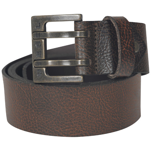 diesel twodent all service leather belt