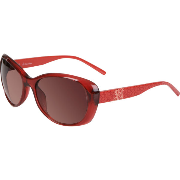 Calvin Klein Oversized Sunglasses - Wild Rose