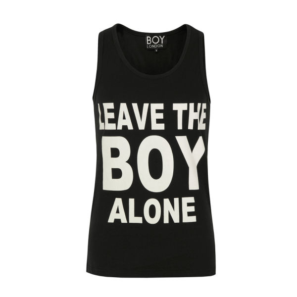 Boy London Unisex Leave The Boy Vest - Black