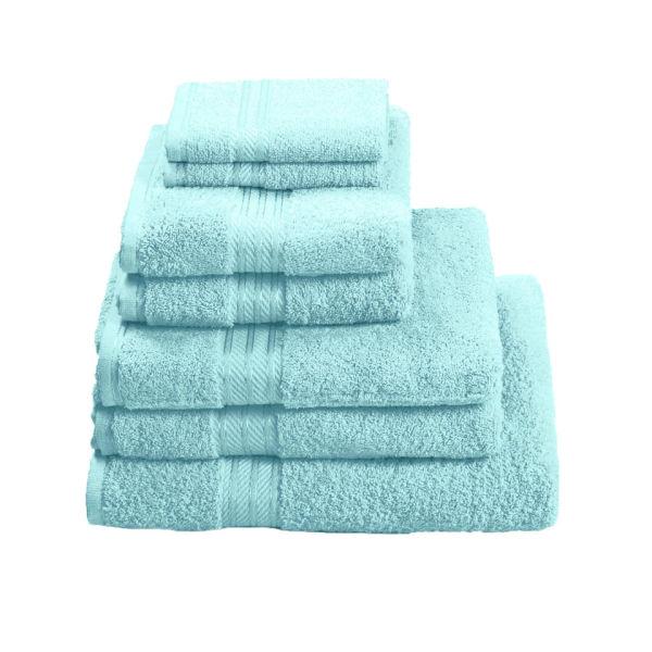 Restmor 100% Egyptian Cotton 7 Piece Supreme Towel Bale Set ( 500gsm)- Aqua