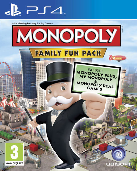 Monopoly Family Fun Pack