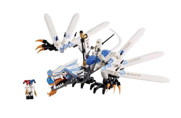 Lego Ninjago Ice Dragon Attack 2260 Toys Zavvi