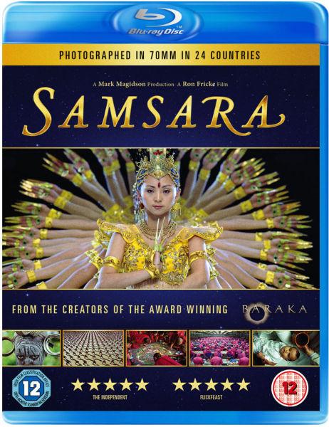 Samsara - Double Play (Blu-Ray and DVD)