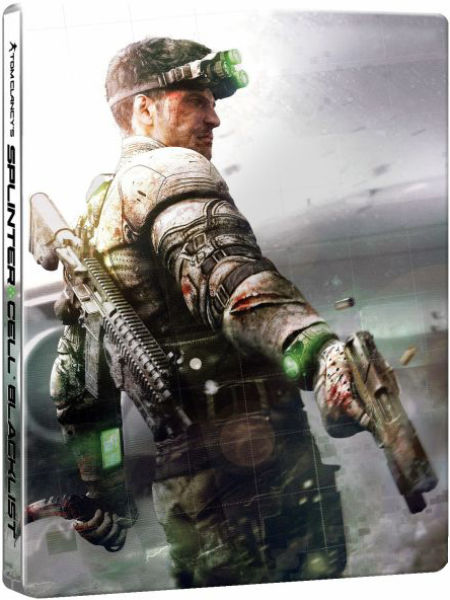 Étui Steelbook Splinter Cell Blacklist