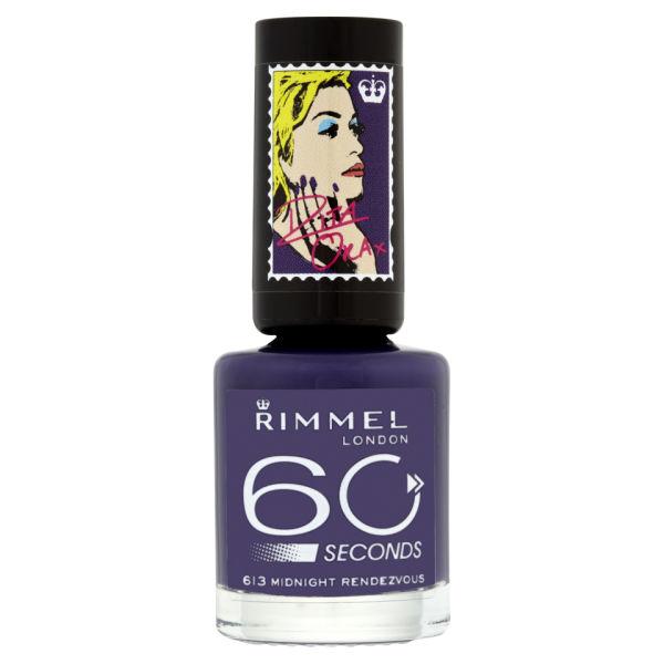 Rita Ora for Rimmel London 60 Seconds Nail Polish ...
