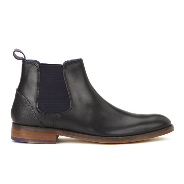 Ted Baker Men's Camroon Leather Chelsea Boots - Black