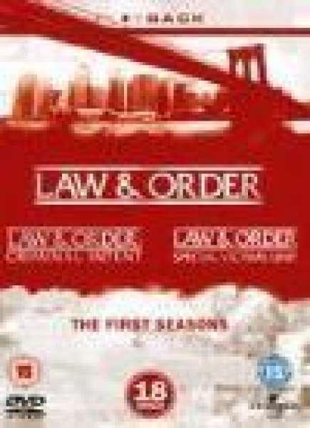 Law And Order - Season 1 [18DVD]