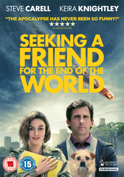 Seeking A Friend For The End Of The World Dvd Zavvi