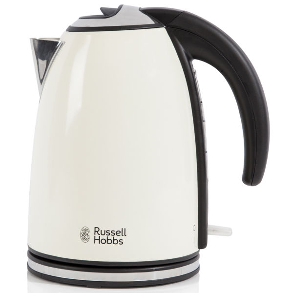 russell hobbs 1 7 litre jug kettle cream iwoot. Black Bedroom Furniture Sets. Home Design Ideas