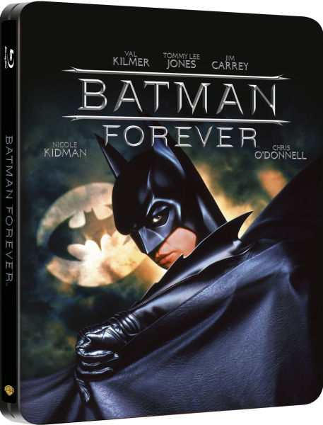Batman Forever Steelbook Edition Blu Ray Zavvi