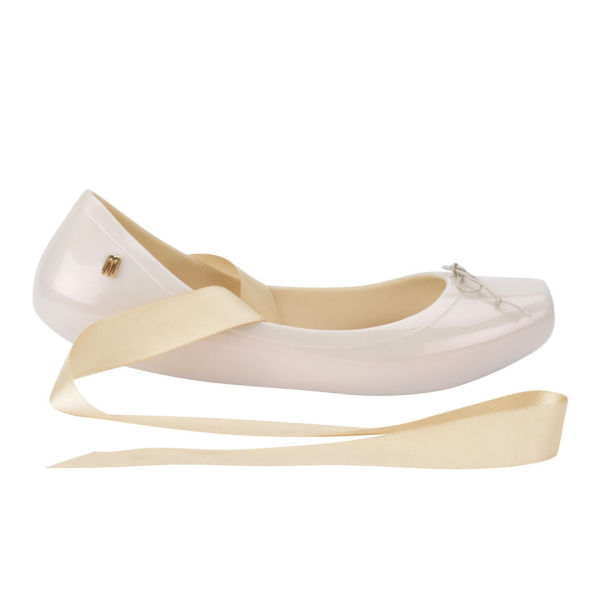 Melissa Women's Ballet Pumps - Nude
