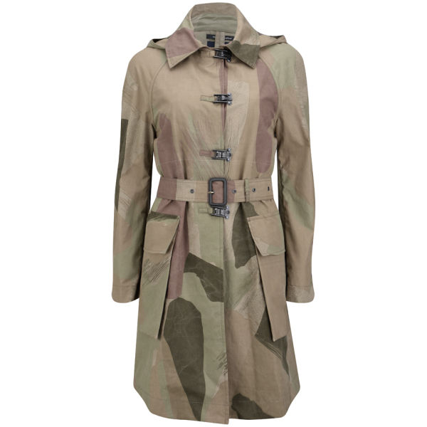 Nigel Cabourn Women's Coat - Light Camouflage