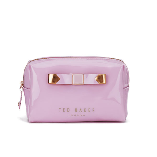 fe8c2ed1a Ted Baker Small Bow Wash Bag - Dusky Pink  Image 1