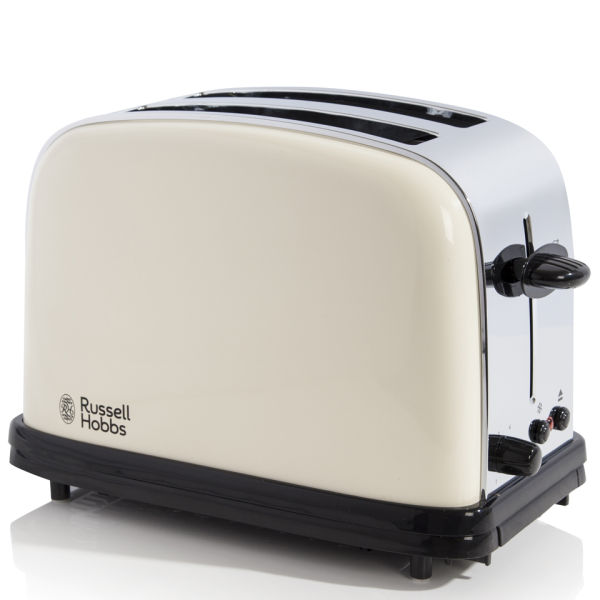 russell hobbs classic 2 slice toaster cream homeware. Black Bedroom Furniture Sets. Home Design Ideas