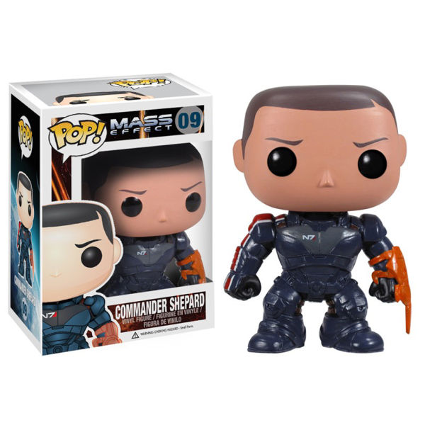 Mass Effect Commander Shephard Pop! Vinyl Figure