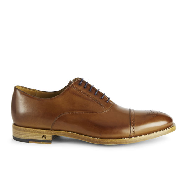 Paul Smith Shoes Men's Berty Leather Shoes - Tan