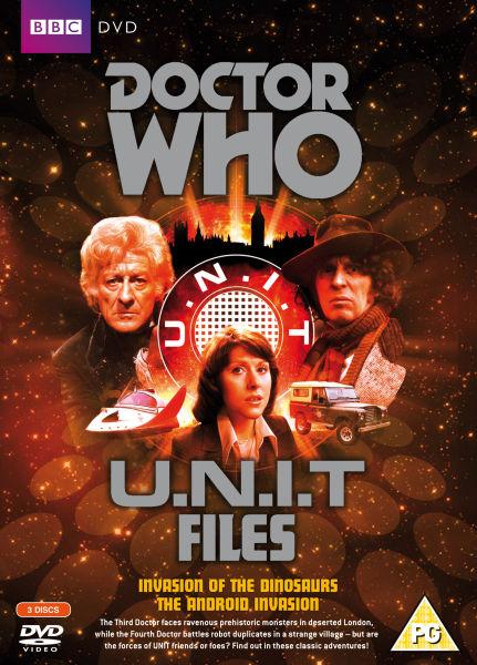 Doctor Who U N I T Files Dvd Zavvi
