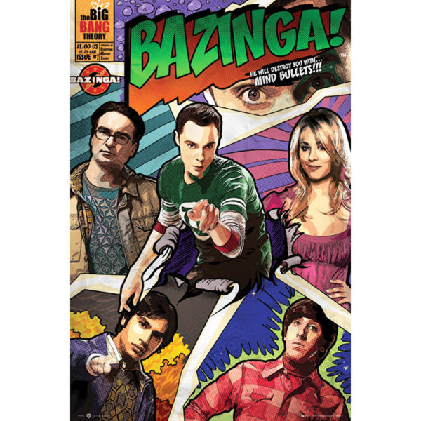 The Big Bang Theory Comic - Maxi Poster - 61 x 91.5cm