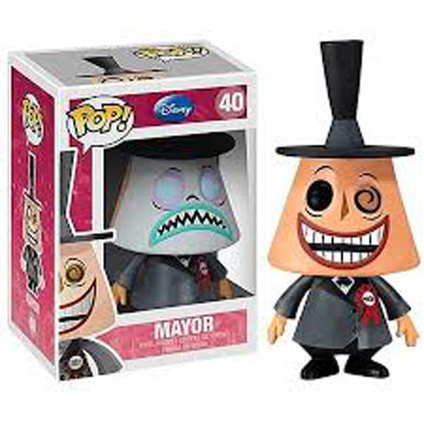 Nightmare Before Christmas Gifts Uk: Disneys Nightmare Before Christmas The Mayor Pop! Vinyl
