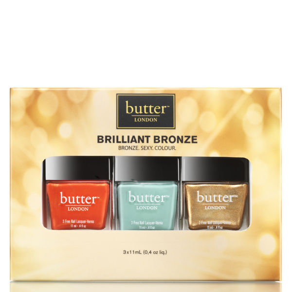 Butter LONDON Brilliant Bronze Kit