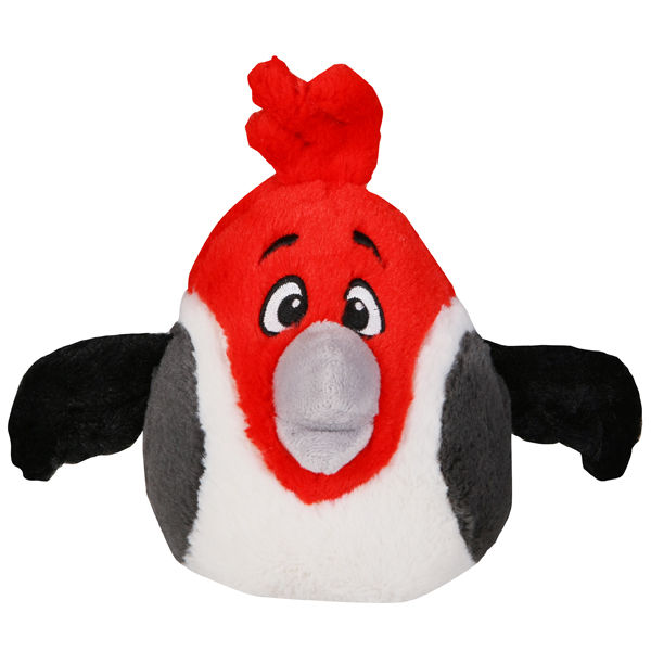 Angry Birds Rio 5 Inch Plush With Sound Red Toys