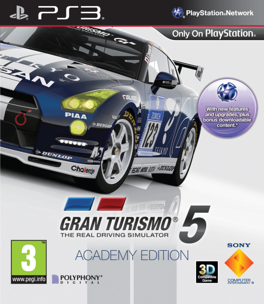 gran turismo 5 academy edition ps3 zavvi. Black Bedroom Furniture Sets. Home Design Ideas