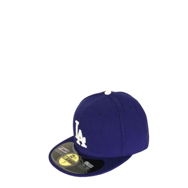 New Era Men's MLB 59FIFTY Los Angeles Dodgers Hat - Game Blue