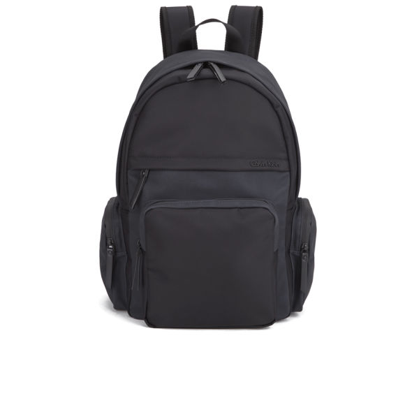calvin klein men 39 s bo backpack black black iris. Black Bedroom Furniture Sets. Home Design Ideas