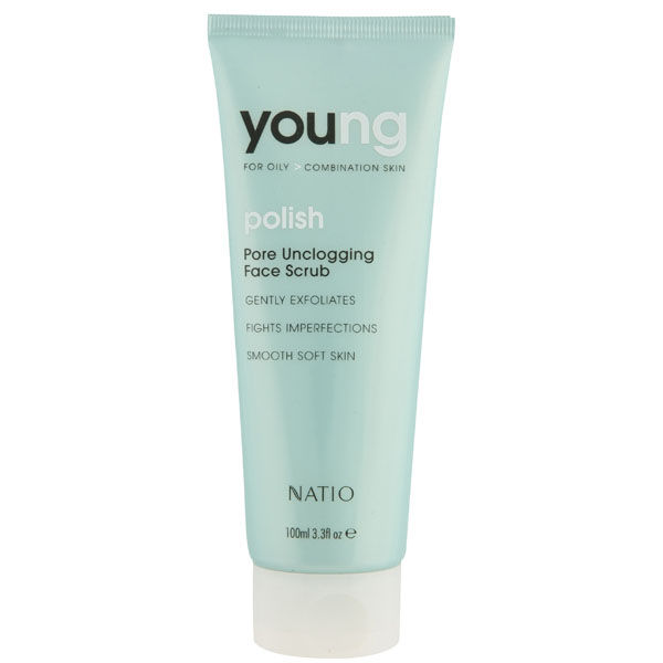 Exfoliant désincrustant Young de Natio (100ml)