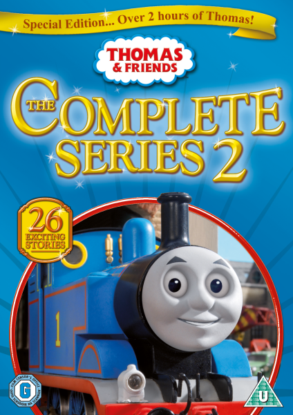 Thomas And Friends Complete Series 2 Dvd Zavvi