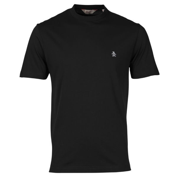 Original Penguin Men's Embroidered T-Shirt - True Black